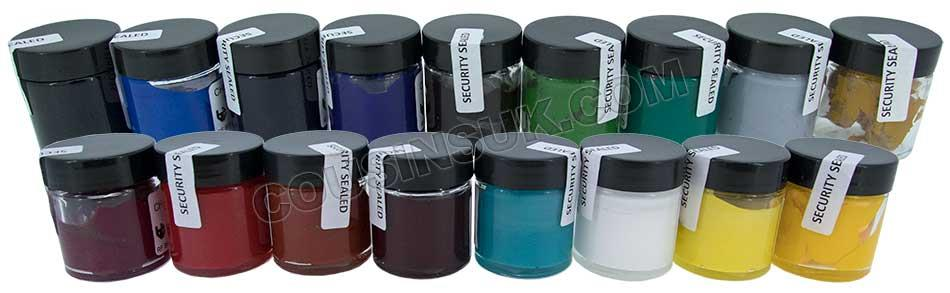 Resin (Colour), Opaque (Chemset UK)