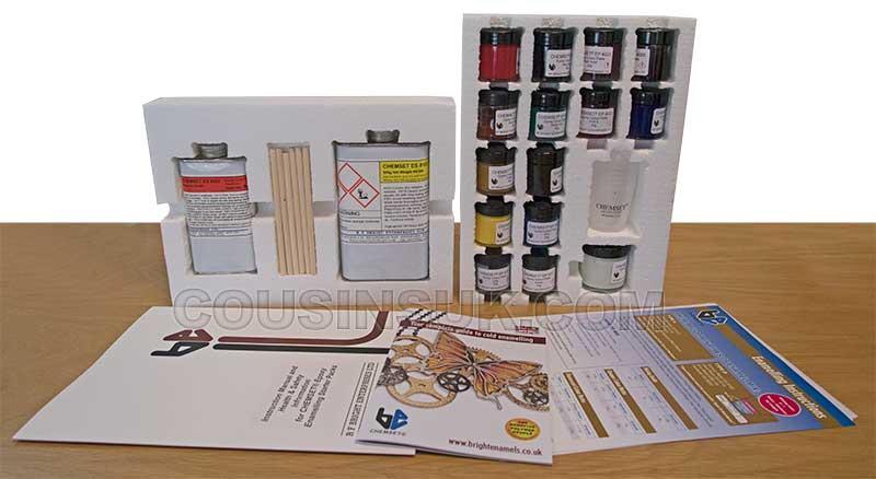 Enamelling Starter Kit, Opaque (Chemset UK)