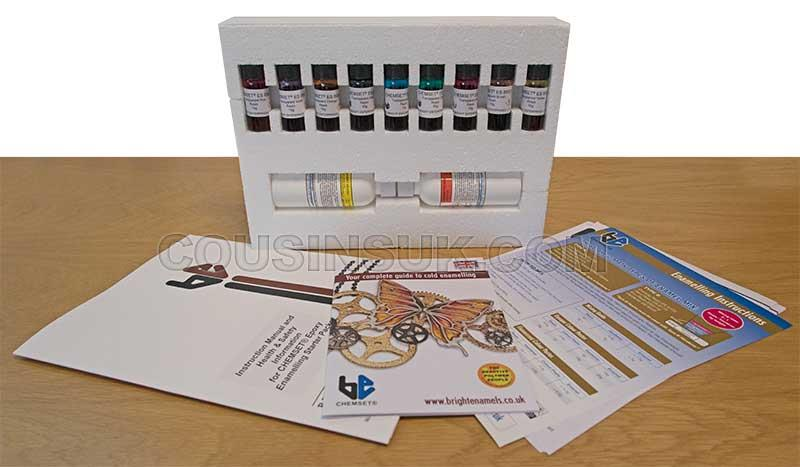 Enamelling Starter Kit, Transparent (Chemset UK)