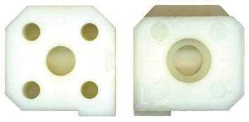 Nylon Jaw Left Side for Attacment E5174 - Elma Modulgrav