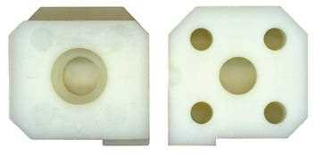 Nylon Jaw Right Side for Attachment E5174 - Elma Modulgrav