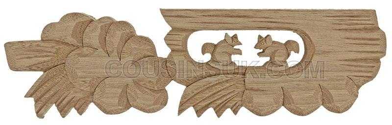 Case Plaque, Squirrel (70 x 250mm)