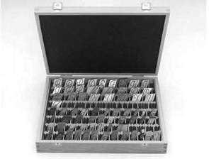 Stencil / Letter Wooden Storage Box - Elma