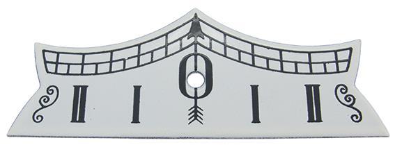 Pendulum Beat Plaque, Aluminium