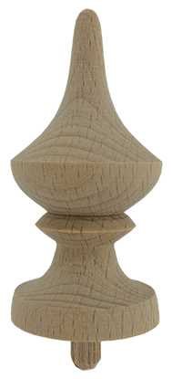 Ø31 x 60mm Wood Finial