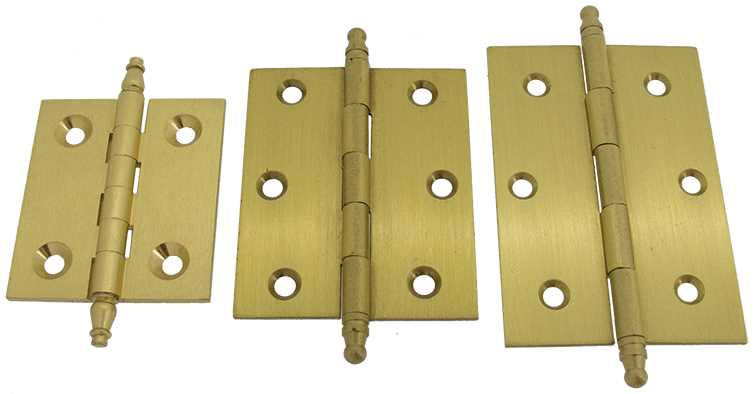Hinges with Finial