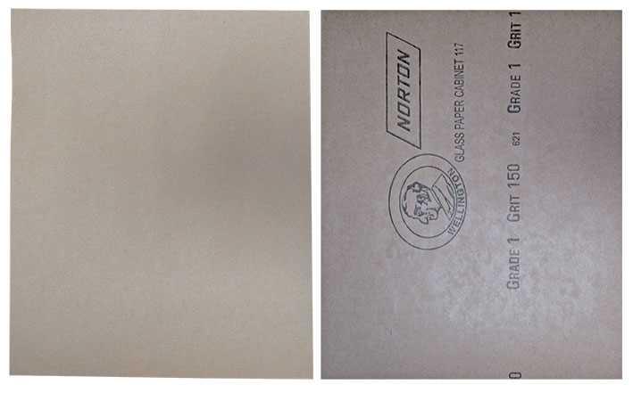 No. 1 (Glass Paper) Oakey
