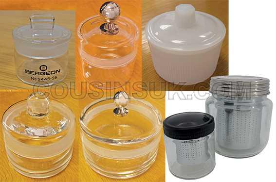 Essence Jars & Gemstone Washing Cups