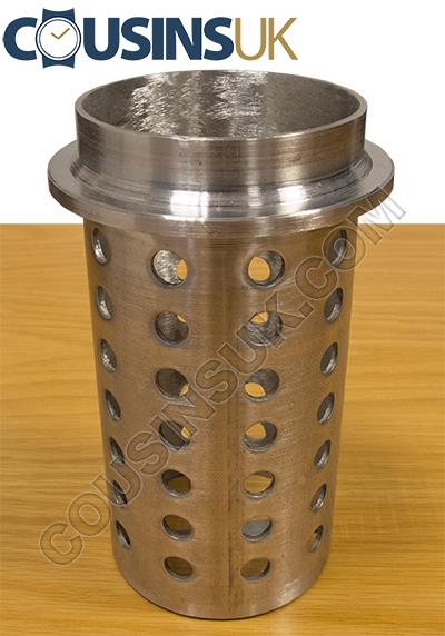 Ø100 x 200mm Perforated Casting Flask