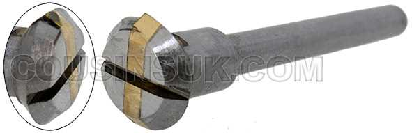 90° Diamond Fly Wheel (4mm Shank)