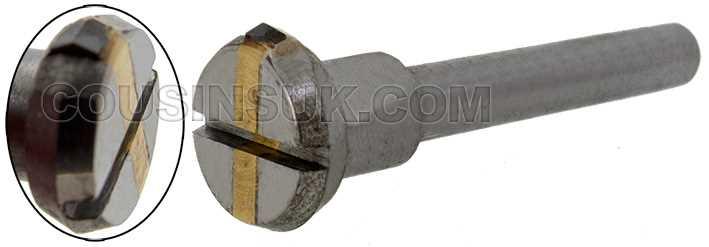 130° Diamond Fly Wheel (4mm Shank)