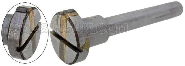 180° Diamond Fly Wheel (4mm Shank)