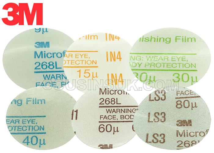 Discs, Micro Finishing Film, 3M (Ø50mm)