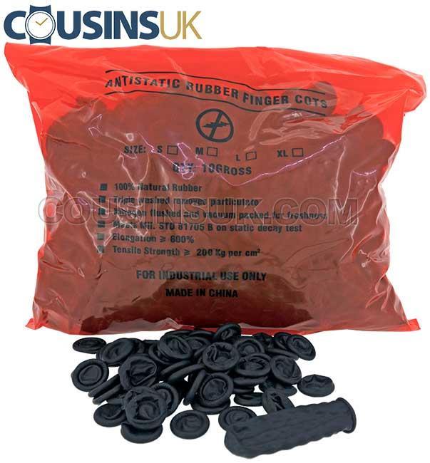 Black, Medium (Ø23mm) Cots