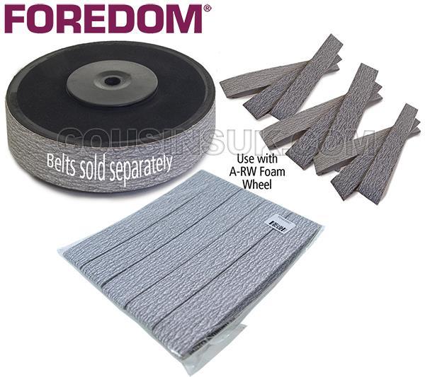 Foam Rubber Wheel & Sand Belts