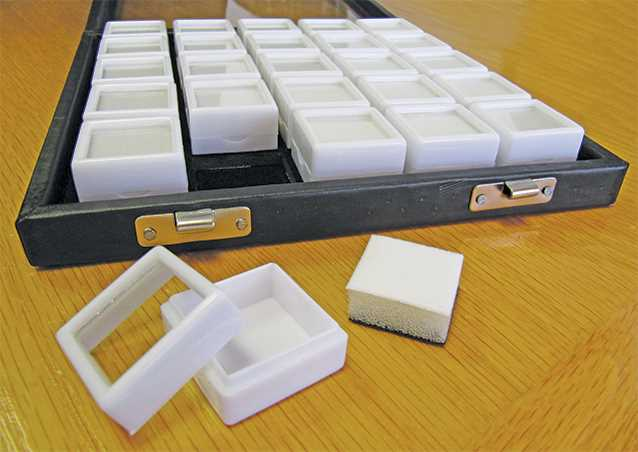 Case with 25 Boxes (25 x 25mm)