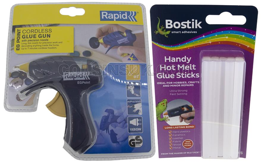 Glue Gun & Glue Sticks