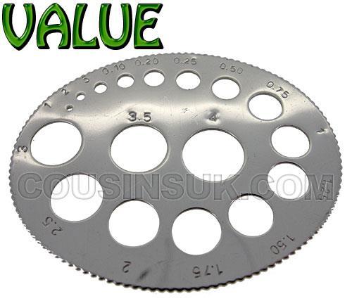 Carat Gauge (Oval Shape)