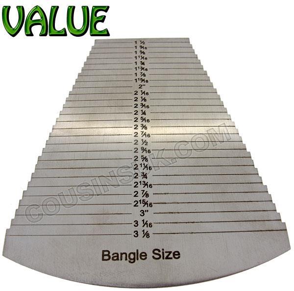Bangle Diameter Gauge, Steel