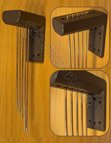 Westminster Chime Gongs, Style 4