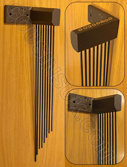 Triple Chime Gongs, Style 3