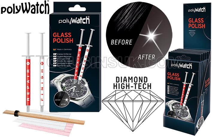 Glass (Mineral) Polywatch Repair Polish