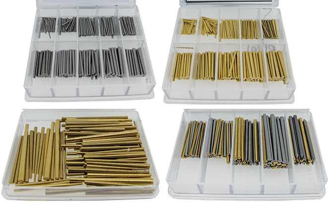 Gauged Sets of Clock Pins