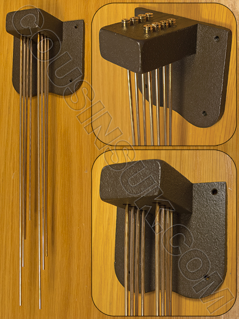 Westminster Chime Gongs, Style 1