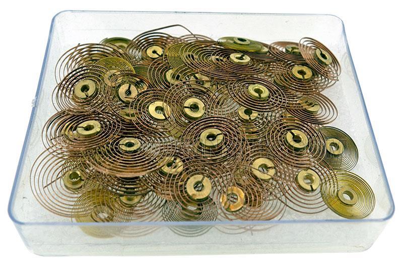 Hairsprings, Clock