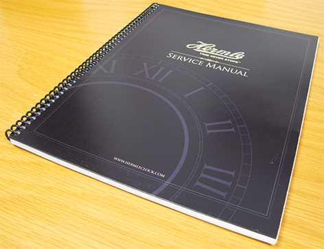 Hermle Clock Movement Service Manual