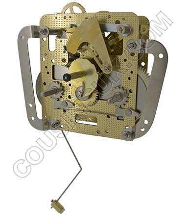 Hermle 141.020 (21cm) Front Pendulum