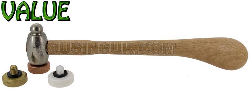 Brass, Plastic & Steel, 140g (5oz) Repousse