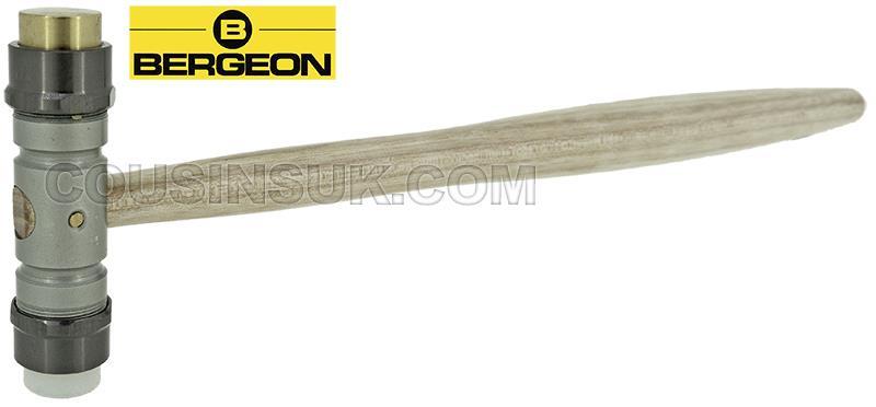 Brass & Plastic, 102g (3.5oz) x 65 x 18mm, Bergeon
