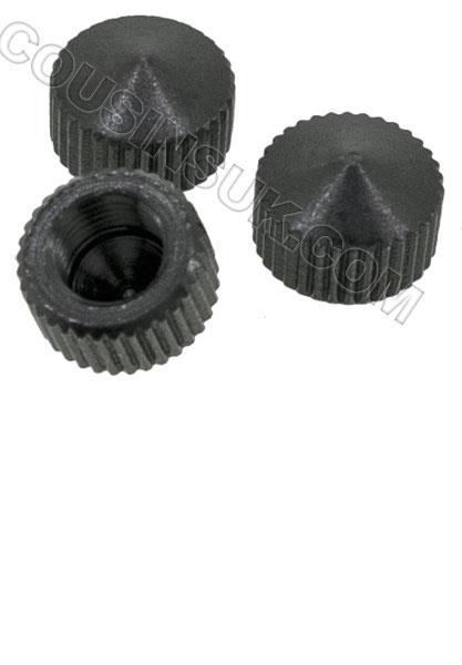 Minute Hand Nuts (Blind), Black (Ø5.60 x 3.70mm)