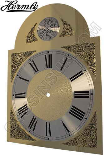 280 x 375mm (Roman) with Tempus Fugit Plaque, Hermle