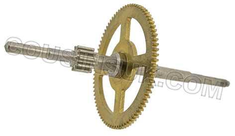 B013.02530 Hermle Train Wheel (Schlubrad)