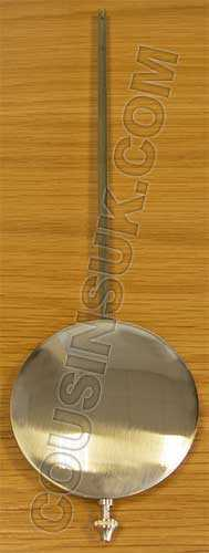300 x Ø80mm (Stamped 45cm) Hermle Pendulum