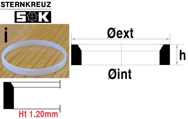 i-Ring, Height 1.20mm, Sternkreuz