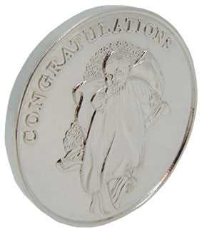 Christening (Solid Silver) Coin