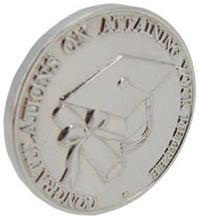 Graduation (Solid Silver) Coin