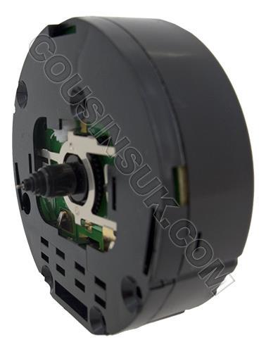 9.8mm (NEF) Alarm Carriage Clock with Flush Knob