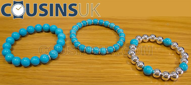 Turquoise & Silver Beads