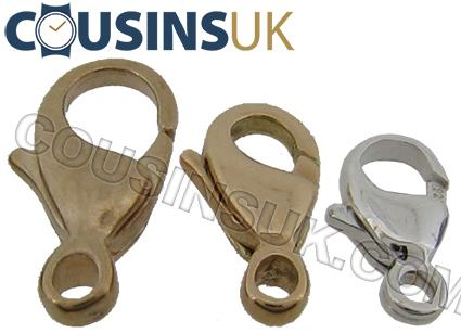 Lobster / Karabiner, Popular with Ring