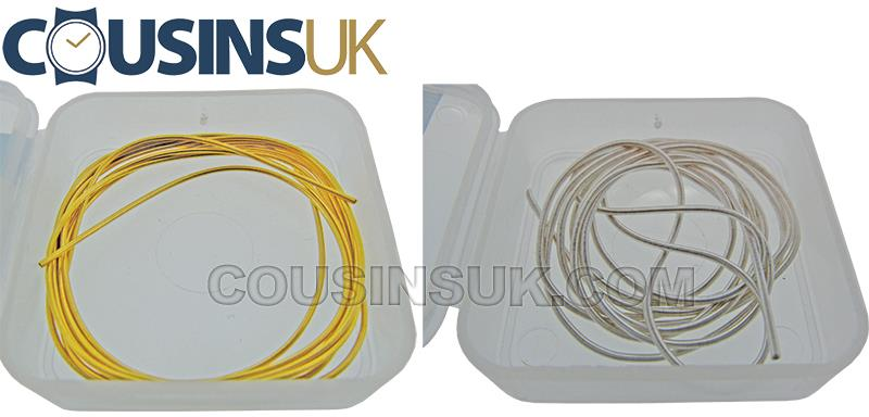 Necklet Ends, Wire Lengths