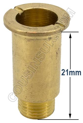 Centre Nuts, Brass 21mm