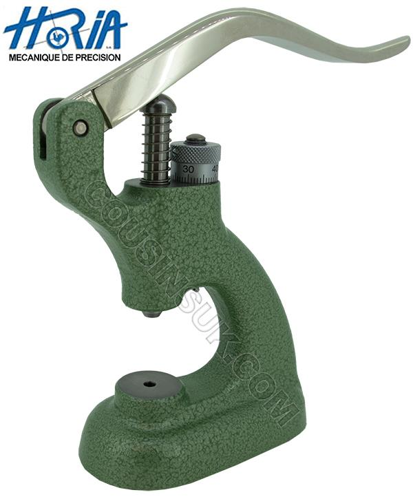 Horia Jewelling Tool with Lever Press