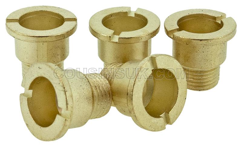 Centre Nuts, Brass 11mm