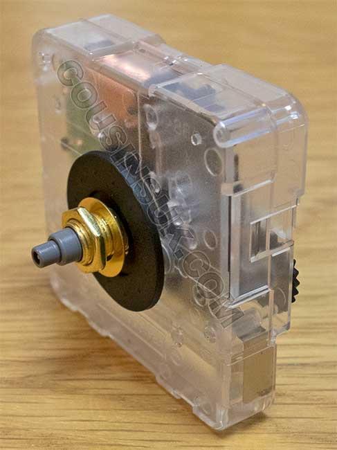 16.5mm (NEF) Shaft Movement