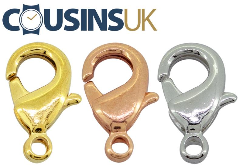 Catch - Lobster/Karabiner, with Ring