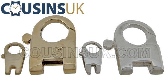 Lobster/ Karabiner Hinged Cast Catches